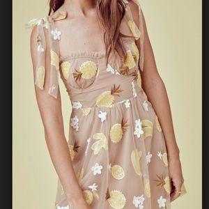 For Love & Lemons Fruitpunch Sequin Mini •SOLD•